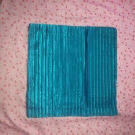 4 teal Cushion cover