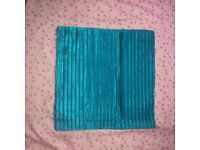 4 teal Cushion cover