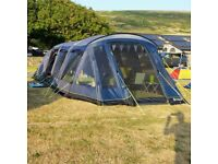 Outwell Clarkston 6a Air tent with footprint