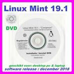 Windows 7/8/10 alternatief:Linux Mint 19.1 installatie dvd
