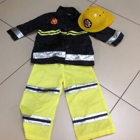 Fireman outfit age 3-5
