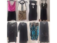 Job lot of dresses and playsuit
