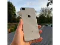 Apple iPhone 8 Plus - Excellent Condition - Unlocked To All Networks - ideal gift - mega offer