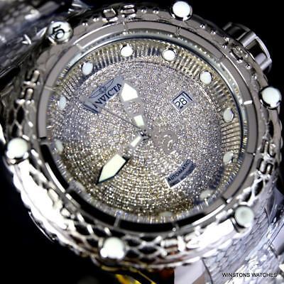 Invicta Subaqua Noma VI 1.81CTW Diamond Swiss Mvt SW200 Automatic 52mm Watch New