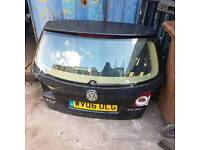 Volkswagen golf plus 2006 2007 boot tailgate with glass black