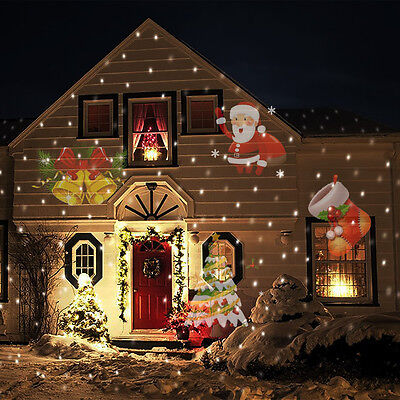 12 Style Waterproof Outdoor Projection Light Christmas Thanksgiving Decoration