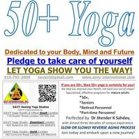 SAVY 50+ Yoga – Yoga for the 50 Plus