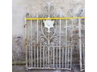 Gates (Wrought Iron) -Double Victorian Entrance Gate, , Drive Gate, Estate Gate