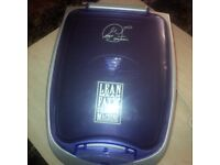Gereorge Foreman grill & 2 slice White toaster Both NEW