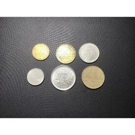 French coin set of 6