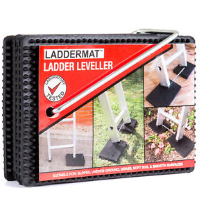LADDERMAT Anti-slip Ladder Leveller, An Essential Ladder Safety Accessory