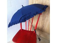 Baby Push Chair Stroller Umbrella Sun Protection to Attach Onto a Buggy or Pram