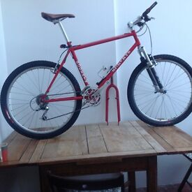 Chas Roberts handbuilt Genesis mountain bike with extras £955