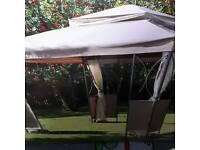 Luxury steel frame gazebo