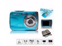 Waterproof Digital Camera & Camcorder in One
