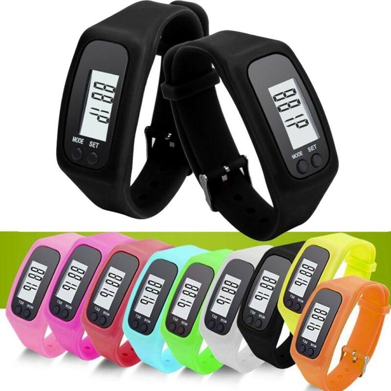 Unisex Digital Pedometer Run Step Walking Distance Calorie C