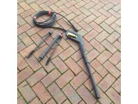 Karcher pressure washer hose with gun