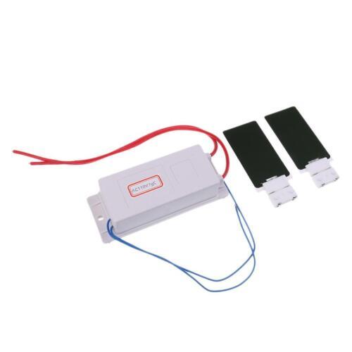 110v Ozone Generator with 2 Ozone Plates kit for Household Sterilization
