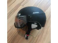 Alpina Menga JV black matte ski snowboard helmet