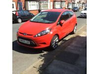 Red Ford Fiesta Edge. 62000 mile. Drives mint. £2800
