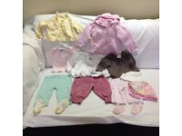 Baby Girl Clothes – 3-6 months – Bundle 9 – Good condition