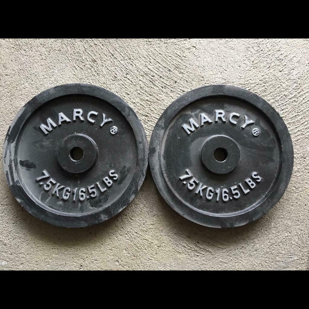 Marcy Standard Cast Iron Weight Plates