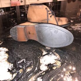 Brown leather boots Brand New