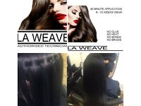 La weave special offer £100 other hairdressing services also available