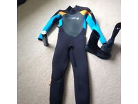 O'Neill Wetsuit and boots - As new condition