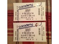 UNDEROATH 2 STANDING TICKETS O2 KENTISH TOWN FORUM 9TH MAY 2017