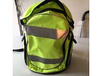 Bright yellow rucksack