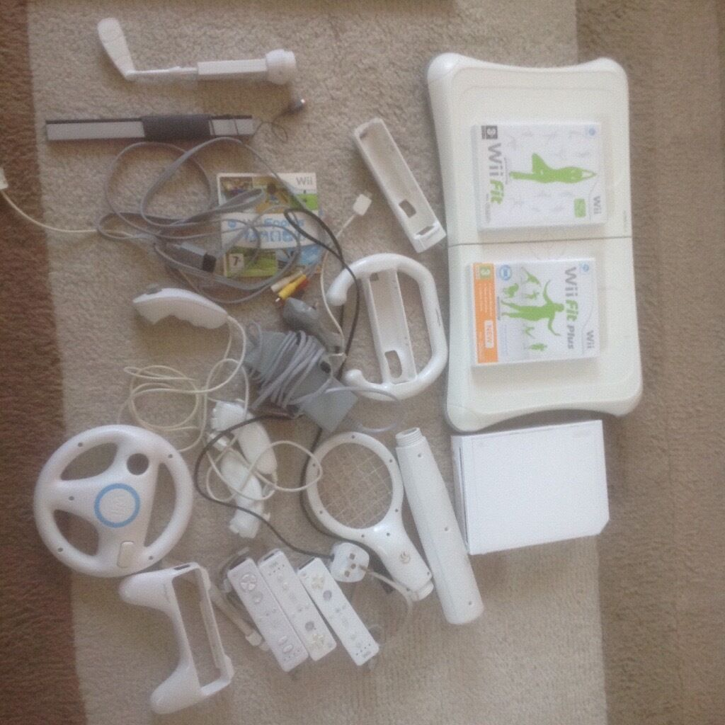 Nintendo wii package