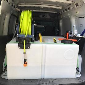 Vauxhall combo-window cleaning van/PURE WATER SYSTEM