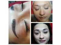 Microblading, Semi permanent make -up