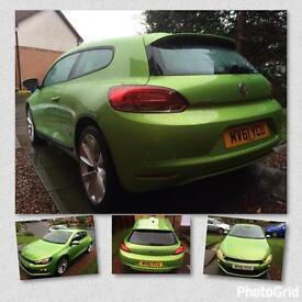 61 VW Scirocco Viper Green 1.4tsi 38600miles