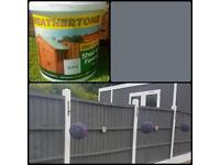 10 LITRE SLATE GREY ONE COAT SHED AND FENCE PAINT