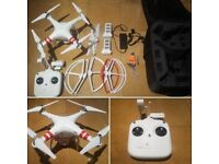 DJI Phantom 2 Vision Drone With Backpack, Spare Battery, Multi-Charger & More!!!!!