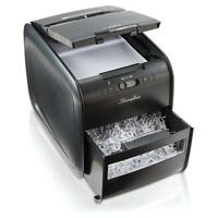 Swingline Stack-and-Shred 60X Hands Free Shredder, Cross-Cut, 60 Sheets, 1 User