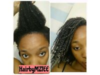 MZTEE- Natural Hairdresser & Organic Hair Product Formulator
