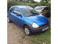 Ford KA 2005 only 52,000 miles