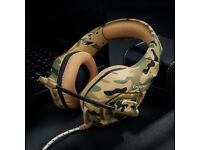 brand new PS4 XBOX Gaming Headset Camouflage
