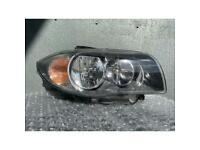 BMW 1 Series E81 E87 07-12 Headlight Driver SIDE