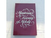 Mantovani's Treasury of Melody -boxed set of 4 volumes of cassette tapes