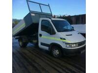 Iveco Daily 35-10 Tipper with alloy sides. 2006 yr 56 plate. £4950