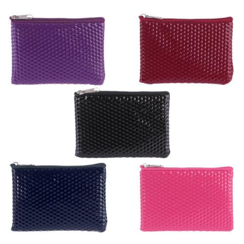 Women Fashion Change Coin Bag Key Zipper Pouch Small Purse W