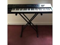 Roland Juno DI, synth/keybord, 61 keys with stand, pedal, gig bag and software