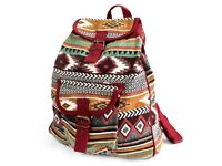 Jacquard Bag - Chocolate Backpack - FREE DELIVERY