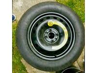Continental Spare Space Saver Wheel + Tyre