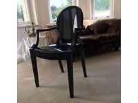 Philippe Starck for Kartell Louis Ghost Chair (x4) - second hand