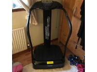 Power plate for sale, excellent condition like new
